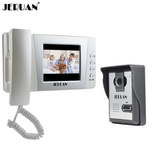 JERUAN Home Wired Cheap 4.3 inch LCD Color Video Door Phone DoorBell Intercom System IR Night vision Camera FREE SHIPPING(China)