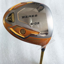 Cooyute New Golf clubs S-03 4 Star Gold color Golf driver 9.5or10.5 loft Graphite shaft R or S flex Clubs Free shipping