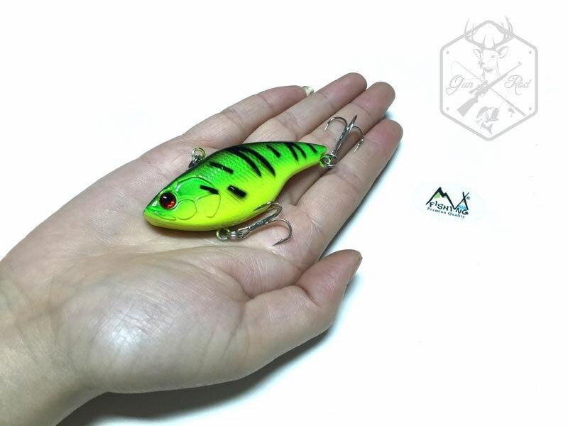 1PC MIZUGIWA Fishing Lure VIB 14g 75mm Vibration Crankbait Hard Bait Lure Walleye Crappie Fishing Tackle 6 Color Rattle Hooks<br><br>Aliexpress