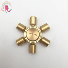 Buy 2017 Metal fidget spinner Tri-Spinner toy metal EDC Hand Spinner Autism ADHD Anti Stress Speelgoed stress for $11.87 in AliExpress store