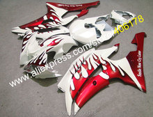 Hot Sales,For YAMAHA YZF-R6 2008 2009 2010 2011 2012 2013 2014 YZF R6 fairing kit YZF R6 YZF600 body kit (Injection molding)(China)