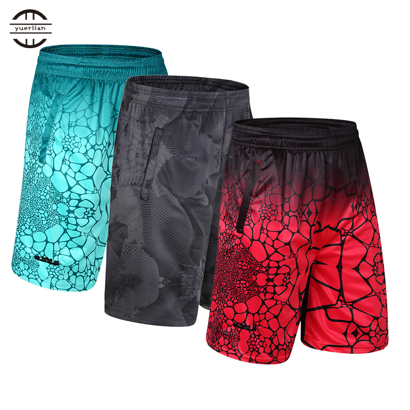 Hot Elastic Zipper Pocket Soccer Jersey crossfit shorts Loose Sportswear Running Sport Shorts Men Jogging GYM Basketball Shorts