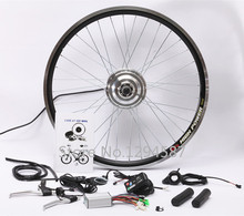 Free shipping , Electric bike hub motor kit 36v 350w Ebike conversion kit  + LED display