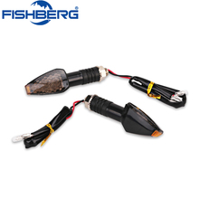 2X Universal LED Turn Signal Light Motorcycle Super Bright Indicator Amber Blinker Lamp Motor LED Turn Signal Indicators Light(China)
