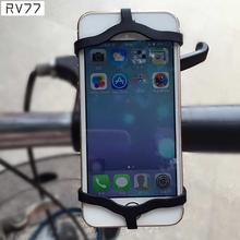 Mobile Phone Holder Stand Adjustable Support  Bike Bicycle Motorcycle Handlebar Mount Cradle Holder for iPhone for Samsung