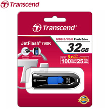 Transcend JF 790 USB Flash Drive High Speed USB 3.0 Flash Memory Stick Gift Pendrive Business Pen Drive 64GB 32GB 16GB 8GB(China)