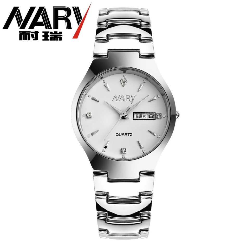 NEW 2017 NARY watches men Top Brand fashion watch quartz watch male relogio masculino Calendar Watches mens Casual Wrist watch<br><br>Aliexpress