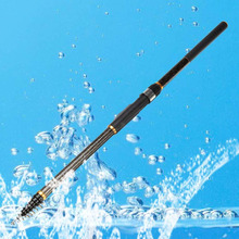 Vitoki 3.6M Carbon Spinning Portable Telescopic Fishing Rod Power  Fishing Rod Telescopic Surf Spinning Rod