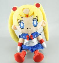 Free shipping Sailor Moon plush Cat Luna Plush Toy Figure Toy 30cm for collection