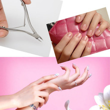 Stainless Steel Nippers Clipper Trimmer Tool Nail Art Cuticle Manicure Plier Care Cutter Kit Remover HB88