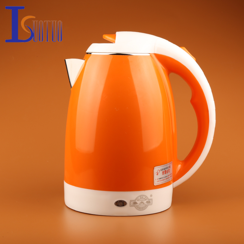 JDC-2000A  2L  Stainless Steel Cordless Electric Water Kettle Quick Heat  Water Heating Kettle<br>