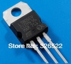 10pcs L7805CV L7805 7805 Voltage Regulator 5V 1.5A TO-220