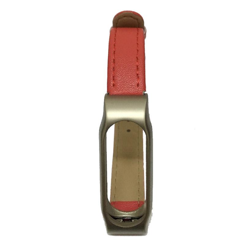 For Xiaomi Mi Band 2 Leather Strap Wrist Band For Mi band 2 Screwless Bracelet for Miband 2 For mi 2 wristband Smart Accessory 9