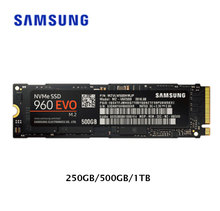 Samsung SSD m2 250 GB 500 GB 1TB M.2 960 EVO Solid State Drives Disk for Laptops Drevo SSD 500GB Original Free Shipping New(China)