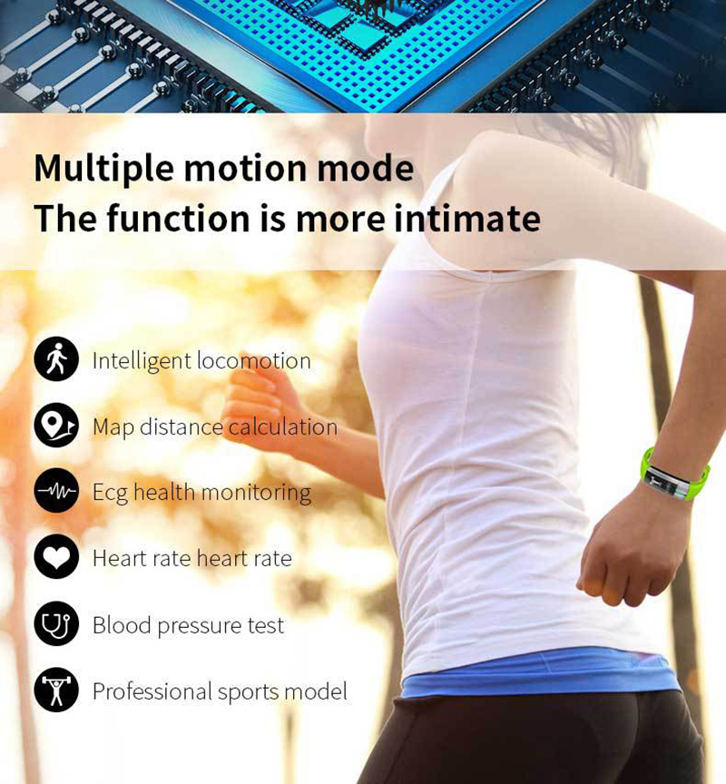 BOUNABAY Bluetooth Smart sport Bracelet watch for women original ladies shockesportivo waterproof ios Android women lady watches