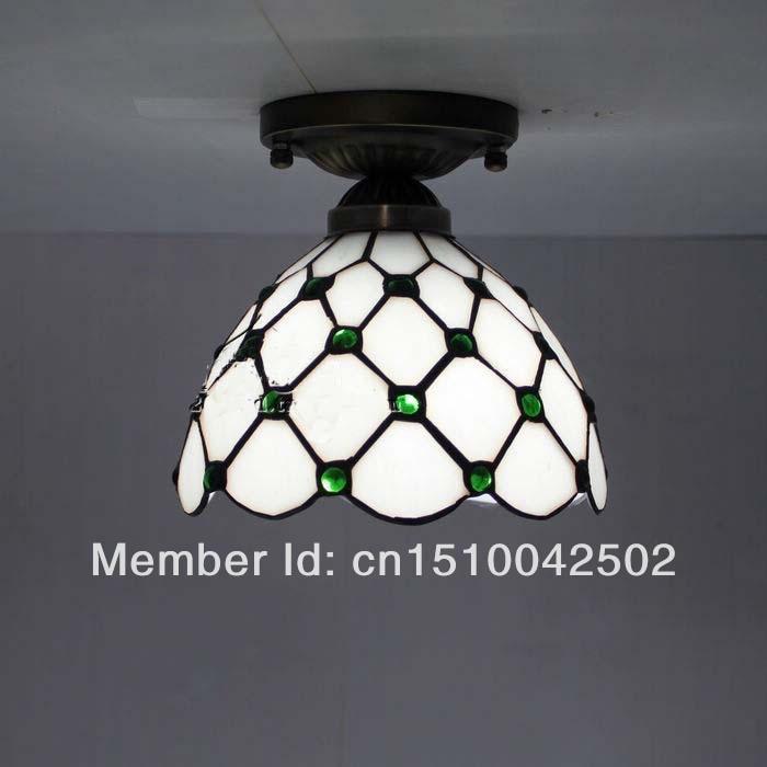 Tiffany Glass Ceiling Light European balcony aisle hallway lighting DIA 20 CM H 16 CM<br><br>Aliexpress