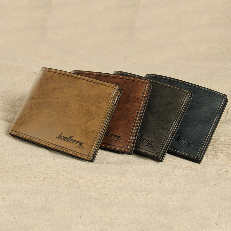New Arrival Men Wallets No Zipper High Quality Card Holders Male Fashion Short Design Money Purse Gentleman Coin Case Wallet<br><br>Aliexpress
