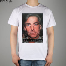 Rick Wright from Pink Floyd T-shirt Top Lycra Cotton Men T shirt New(China)