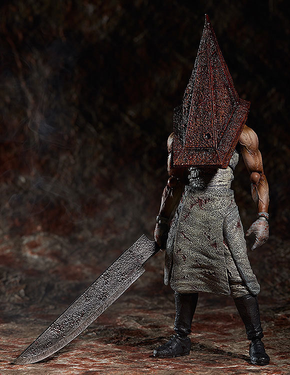 Silent Hill Action Figure Pyramid Head  Figma PVC 150mm Collectible Model Toy Anime Movie Silent Hill Pyramid Head<br><br>Aliexpress
