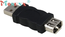 ECOSIN Firewire IEEE 1394 6 Pin F to USB M Adaptor Convertor JAN31(China)