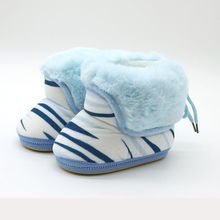 Now Hot 0-18M New Baby Shoes Baby Winter Warm Soft Snow Boots Toddler Girl Cotton Padded Shoes Newborn Infant Booties