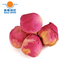 Free shipping Chinese herb tea organic dried peony flower ball tea