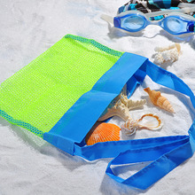 24*24cm Good Quality Outdoor Mesh Bag Child Treasured Object Beach Collection Storage Bags Game Gadgets Organizer Size S(China)
