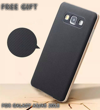 For Samsung Galaxy A5 2015 case PC Frame + Silicone back cover cellphone case for Samsung galaxy A5 A500F drop shipping