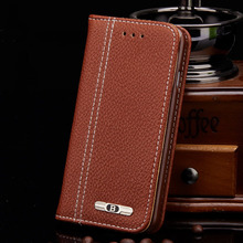 Luxury Business Women/Men Card Slot Wallet Holster Leather Cellular Case Cover For iPhone 4 5 S 6 7 plus for Samsung Galaxy S6
