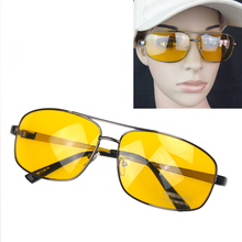 Top sale men's summer Driver eyeglasses goggle sun Glasses High Definition Night Driving Vision Sunglasses