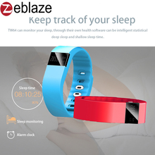 2017 New TK02S Bluetooth Smart Wrist Band Bracelet for Sport Activity Fitness Tracker  Better Than TW64 Mi band