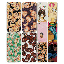"Colorful Painted Cartoon Grid Phone Cases Covers ZTE Blade X7 Soft Silicon Fundas Capa ZTE Blade X7 5.0"" Case free gift"