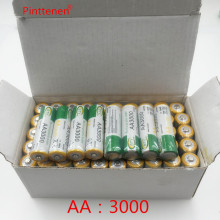 20pcs/lot New Original AA 3000mAh 1.2 V Quanlity Rechargeable Battery AA 3000mAh BTY NI-MH 1.2V Rechargeable 2A Battery