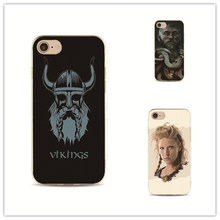 Canada TV Vikings phone case cover for iPhone 7 plus 4 4s 5 5s 5c se 6 6s for Samsung S5 S4 S6 S7 edge Hard pc Housing