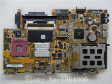 Wholesale X51RL laptop motherboard for asus mainboard REV 2.0 (Integrated) Test 100% good work(China)