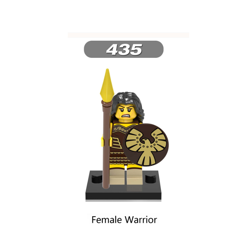 XH435-Female  warrior