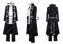 Pandora Hearts Gilbert Nightray (Raven) Cosplay Costume Custom Made any size Jacket Pants Men Fashion Outfit Clothing(China)