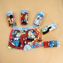 Hot Sale Spiderman Boys underwear 6pcs/lot Children's cotton underwear baby cartoon boy boxers panties shorts boxer clothings