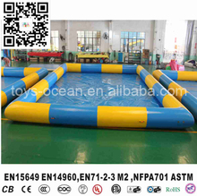0.9mm PVC floating inflatable water pool,  large inflatable swimming pool