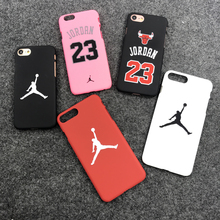 Hot Jordan 23 Chicago bull sports Matte hard plastic protection case for iphone 7 7plus 5 5s se 6 S 6s plus Coque cover cases