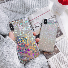 Buy Bling glitter silicon phone Cases iphone 7 7Plus Laser phone Case iphone X 6 6s 6Plus 6splus 8 8plus back cover for $3.14 in AliExpress store
