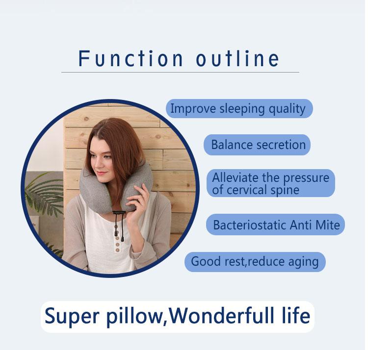 Hot selling cooling gel memory foam pillow