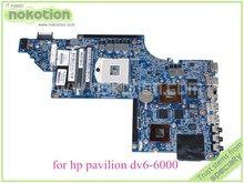 NOKOTION 705188-001 laptop motherboard for hp pavilion DV6 DV6-6000 main board HD3000 Radeon 7690M 2GB graphics