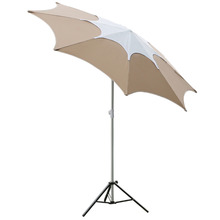 Abba Patio garden outdoor furniture Patio Umbrell 7-1/2-Feet Adjustable Height Fiberglass Rib Beach Garden umbrella