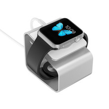 KISSCASE Simple Aluminum Charging Dock Stand Phone Holder for iWatch Bracket for Apple Watch Charging Holder Stand