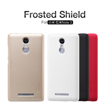 xiaomi Redmi Note 3 Case NILLKIN Super Frosted Shield Hard Back Cover case For XiaoMi Redmi Note 3 Pro With screen protector(China)