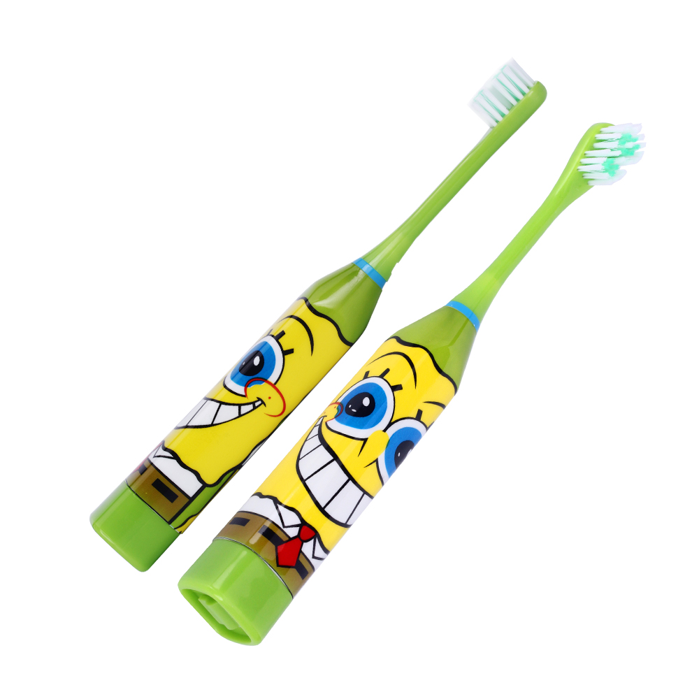 Hot Cartoon Pattern Children Electric Toothbrush Double-sided Tooth Brush Heads Electric Teeth Brush with 2 pcs Heads For Kids 9