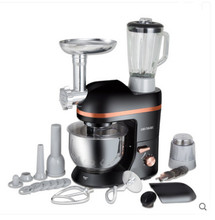 TOP CHEF Electric mixer Food processor Dough kneading machine 5L 1000W eggs cake kitchen stand mixer food Cooking mixing beater(China)