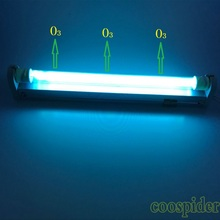 T6 G13 Double ended Bi-pin Linear UV Replace Light Tube, UVC + Ozone Germicidal 10W 34.5cm 15W 45.5cm available