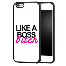 like a bosses bitch quotes quotes Printed case cover for iphone 7 7plus 6 6splus 5 5s 5c SE(China)